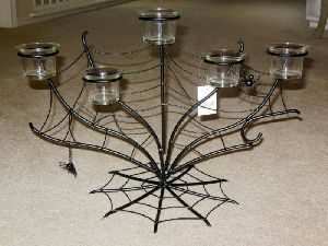 Iron Candle Stand 04