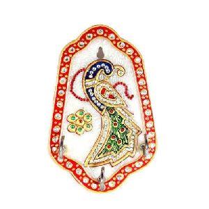 Handmade Marble Key Holder