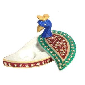 Handicraft Marble Kumkum Box