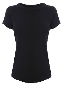 Womens  Round Neck T Shirt