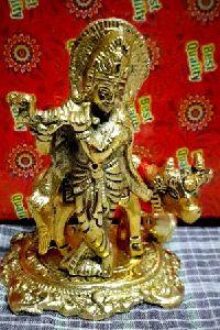 Lord Krishna With Nandi Cow Statue
