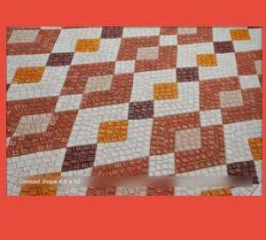 Semi Hand Cut Diamond Mosaic Tile