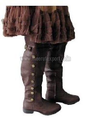 Medieval Leather Boots