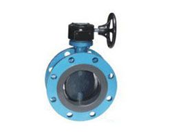 Fully Body Lining Butterfly Valve