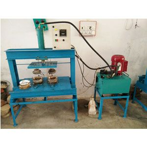 Hydraulic Double Die Dish Making Machine