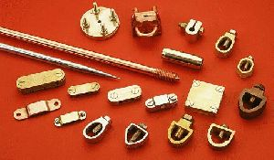 Grounding Earth Rods Brass Clamps Couplers