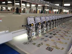 Used Computerized Embroidery Machine
