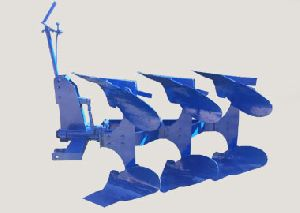 Three Bottom Mechanical Plough
