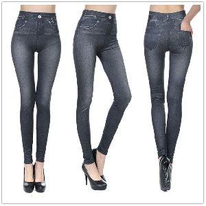 Ladies Lycra Jeans