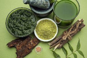 Dry Neem Leaf Powder