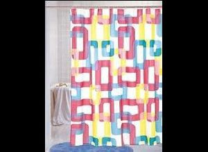 Wrinkle Free Shower Curtain