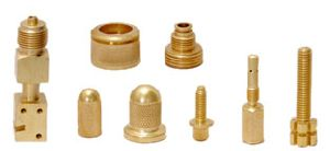 Brass Turned Part