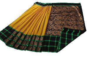 Kuppadam Silk Cotton Saree