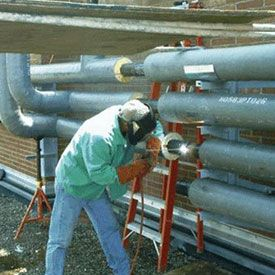 Pipe Line Erection Work