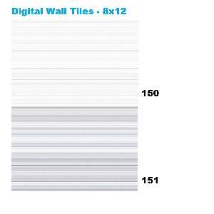 Decorative Digital Ceramic Wall Tiles  150