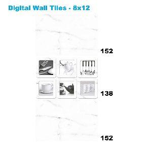 Non-slip Ceramic Decorative Digital Wall Tiles 138