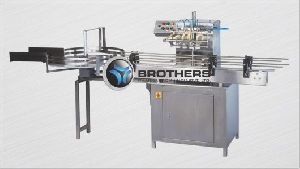 Automatic Four Head Bottle Air Jet Cleaning Machine