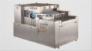 Automatic High Speed Linear Tunnel Type Bottle Washing Machine