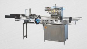 Automatic Twin Head Bottle Air Jet Cleaning Machine