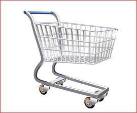 super market trolley
