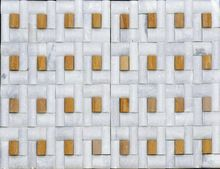 Natural Stone White Marble Mosaic Tile