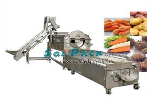Qxpg-2000 Potato Peeling Line