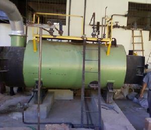 Briquette Fired Package Boiler