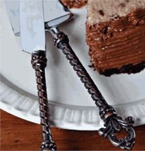 Stainless Steel Hand Made Cake Serving Spoon