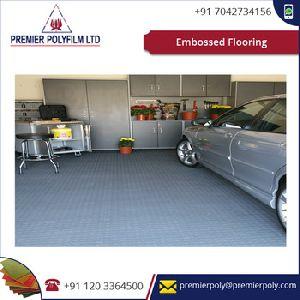 Embossed Flooring Fabricated Utilizing Top Review Material