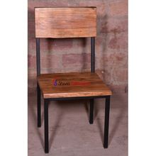 Edge Wooden Dining Table Chair