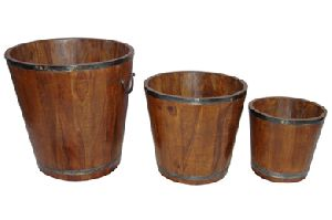 Gifts Items Furniture - Wooden Decorative Planters