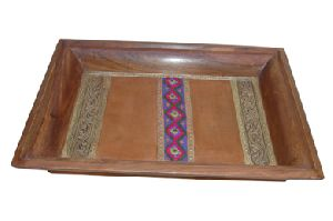 Gifts Items Furniture - Wooden Tray And Bowls