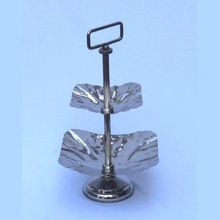 Cake Stand Square Stainless Steel