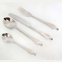 Solid Handle Stainless Steel Cutlery Set ( Set Of 04 Psc)