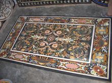 Marble Stone Inlay Dining Table