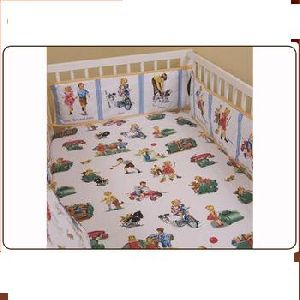 Baby Fitted Crib Sheet Set