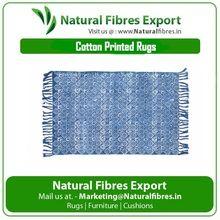 Dabu Printed Cotton Rug