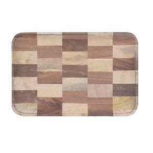 Mix Wood Rectangular Serving Tray