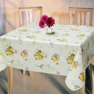Table Cloth, Made Of 100% Soft Polyester