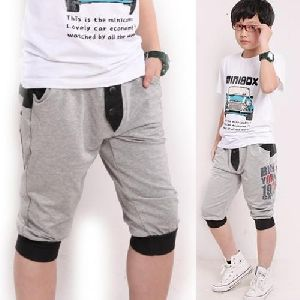 Boys Cotton Capri