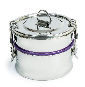 Leak-proof Double Decker Stainless Steel Lunch Box