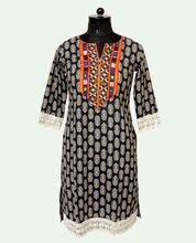 Indian Embroidery Kurti