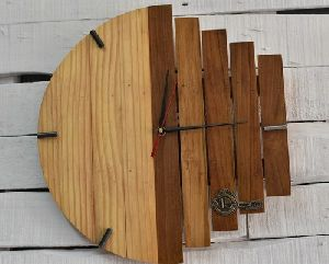 Designer Wooden Wall Clock