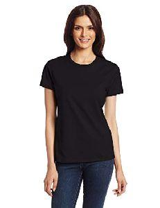Ladies Half Sleeves Cotton T-shirt