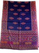 Vintage Pashmina Jamawar Silk Shawl
