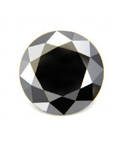 1.00 Ct Of 5.50-6.30 Mm Aa Round ( 1 Pc ) Loose Fancy Black Diamond Natural Loose Diamonds