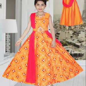 Kids Ethnic Wear Anarkali Salwar Suits Churidar
