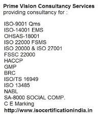 ISO 9001, ISO 14001, 45001, ISO 22000, ISO 13485 certification in Bahadurgarh