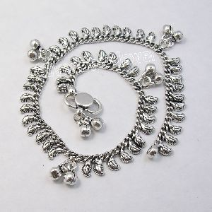 Sterling Silver Beautiful Handmade Anklet