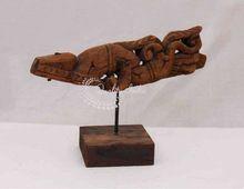 Hand Crafted Wooden Designs Figurine